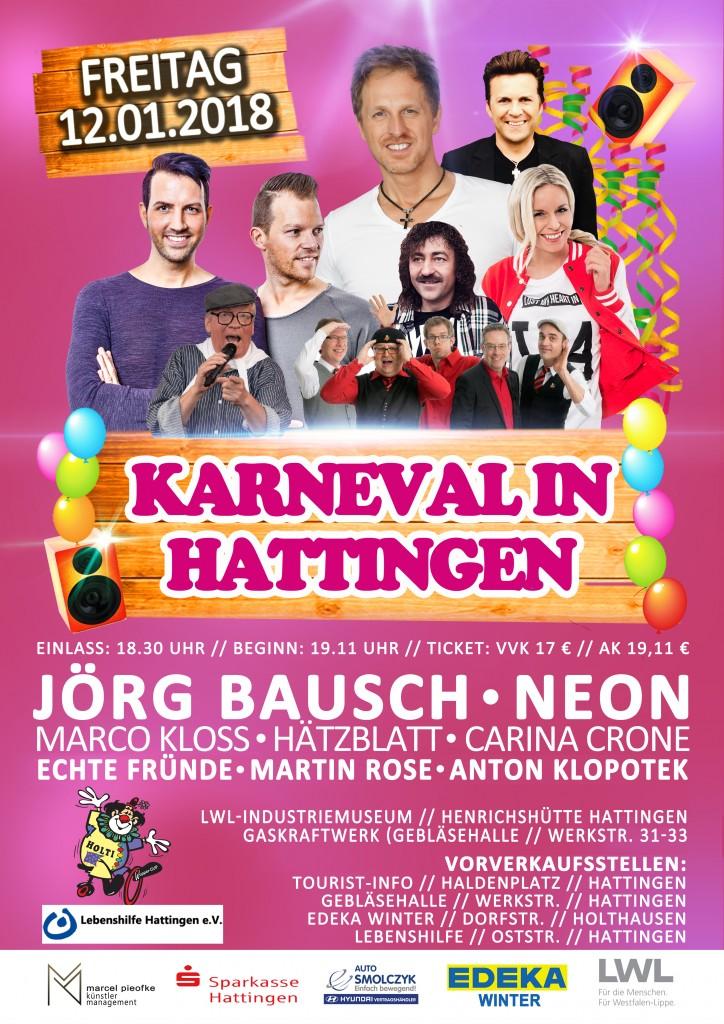 Karneval Hattingen Grafik